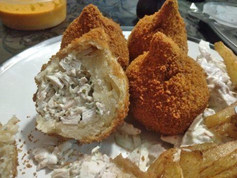Brazilian Chicken Coxinha